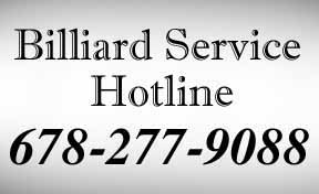 pool table movers phone number